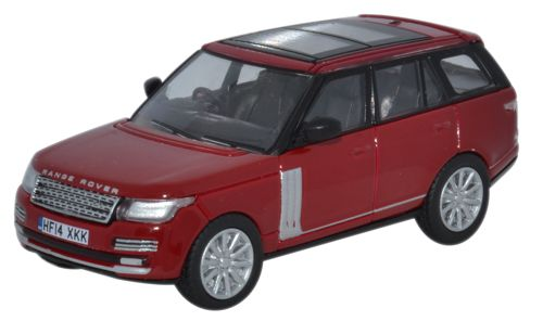 oxford diecast range rover vogue firenze red brian collins enterprises. Black Bedroom Furniture Sets. Home Design Ideas
