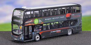 Northcord Enviro 400MMC West Midlands Platinum - X1 Coventry