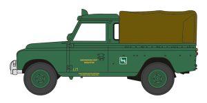 Oxford Diecast Land Rover Series II LWB Canvas - Southdown