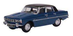 Oxford Diecast Rover P6 - Corsica Blue