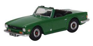 Oxford Diecast Triumph TR6 - Emerald Green