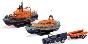 Corgi RNLI Gift Set Shannon Lifeboat Severn & Flood Rescue Team