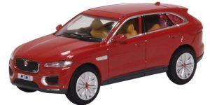 Oxford Diecast Jaguar F Pace - Italian Racing Red