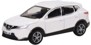 Oxford Diecast Nissan Qashqai - J11 Storm White